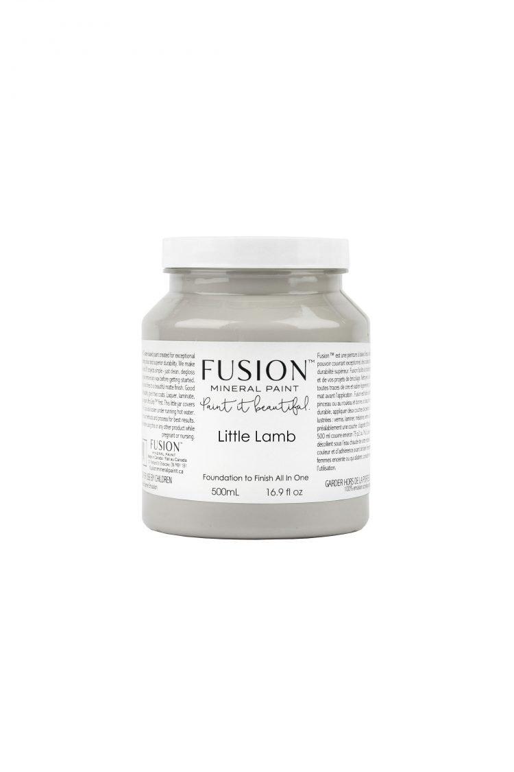 Fusion Mineral Paint - Little Lamb   www.raggedy-bits.com