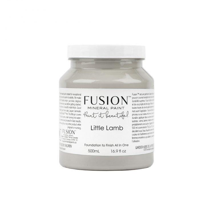 Fusion Mineral Paint - Little Lamb | www.raggedy-bits.com