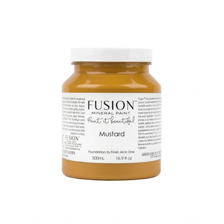 Fusion Mineral Paint - Mustard | www.raggedy-bits.com