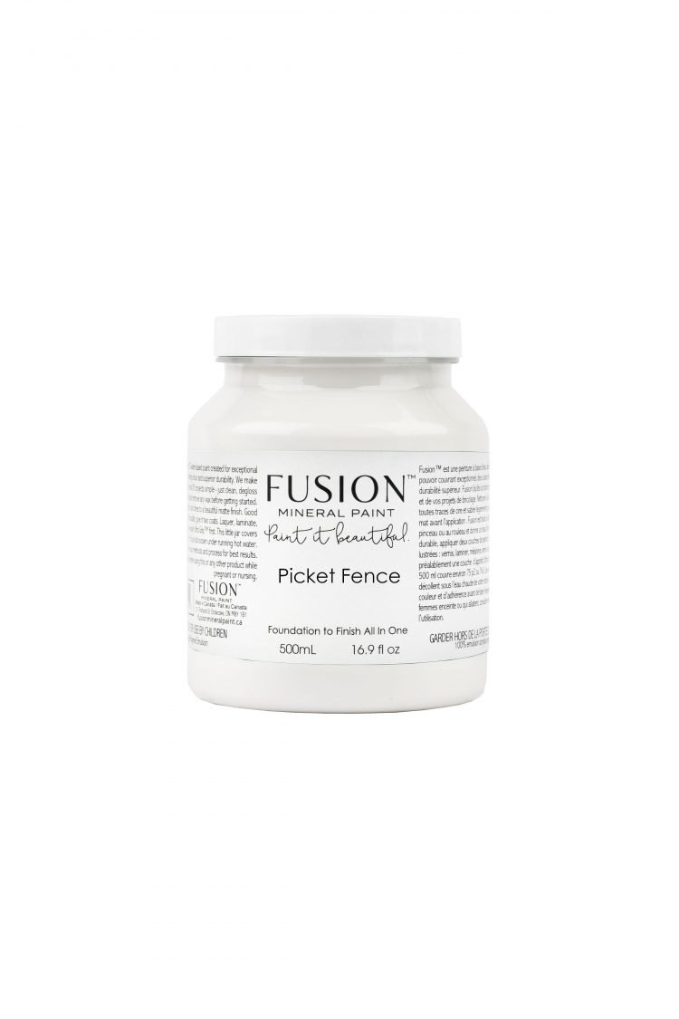 Fusion Mineral Paint - Picket Fence | www.raggedy-bits.com