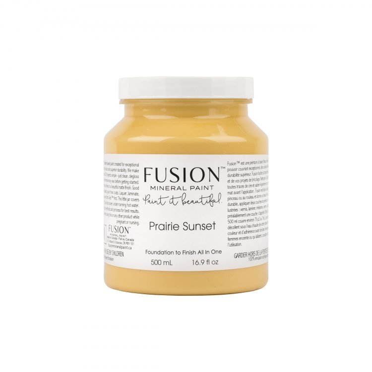 Fusion Mineral Paint - Prairie Sunset | www.raggedy-bits.com