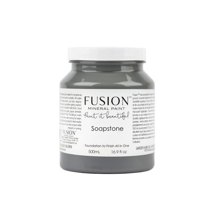 Fusion Mineral Paint - Soapstone | www.raggedy-bits.com