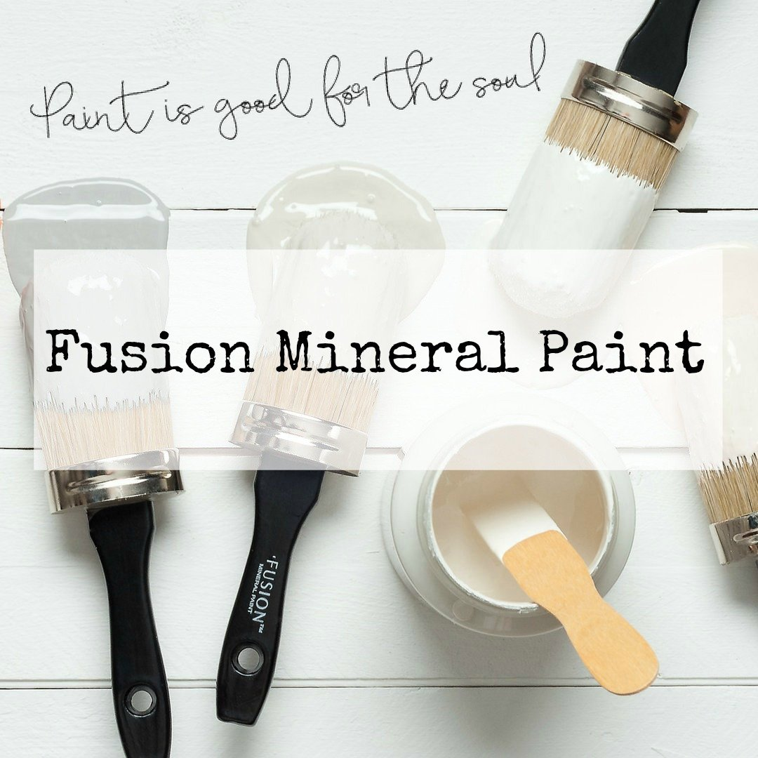 Fusion Mineral Paint is available at Raggedy-Bits.com Painting Barn