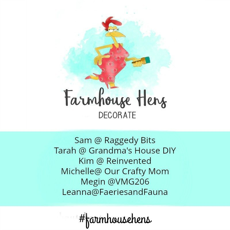 We are all super excited to introduce our shiny brand new blog hop. Once every month, five of my favourite bloggers join together to create our best farmhouse decor. These fantastic bloggers inspire and challenge me with their blogs and we hope to challenge and inspire you as well | Farmhouse Gather Window | www.raggedy-bits.com