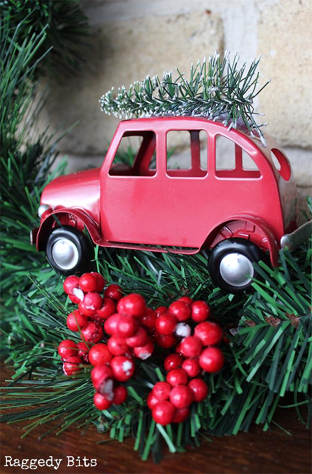 Simple 5 Minute Vintage Truck Wreath