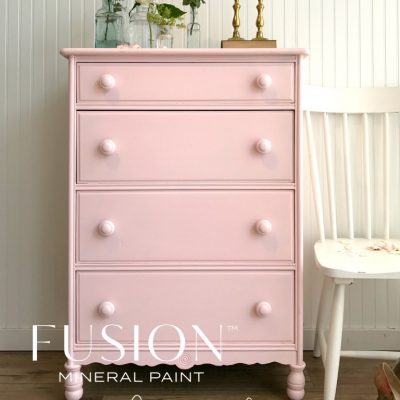 Fusion Mineral Paint - English Rose available at www.raggedy-bits.com