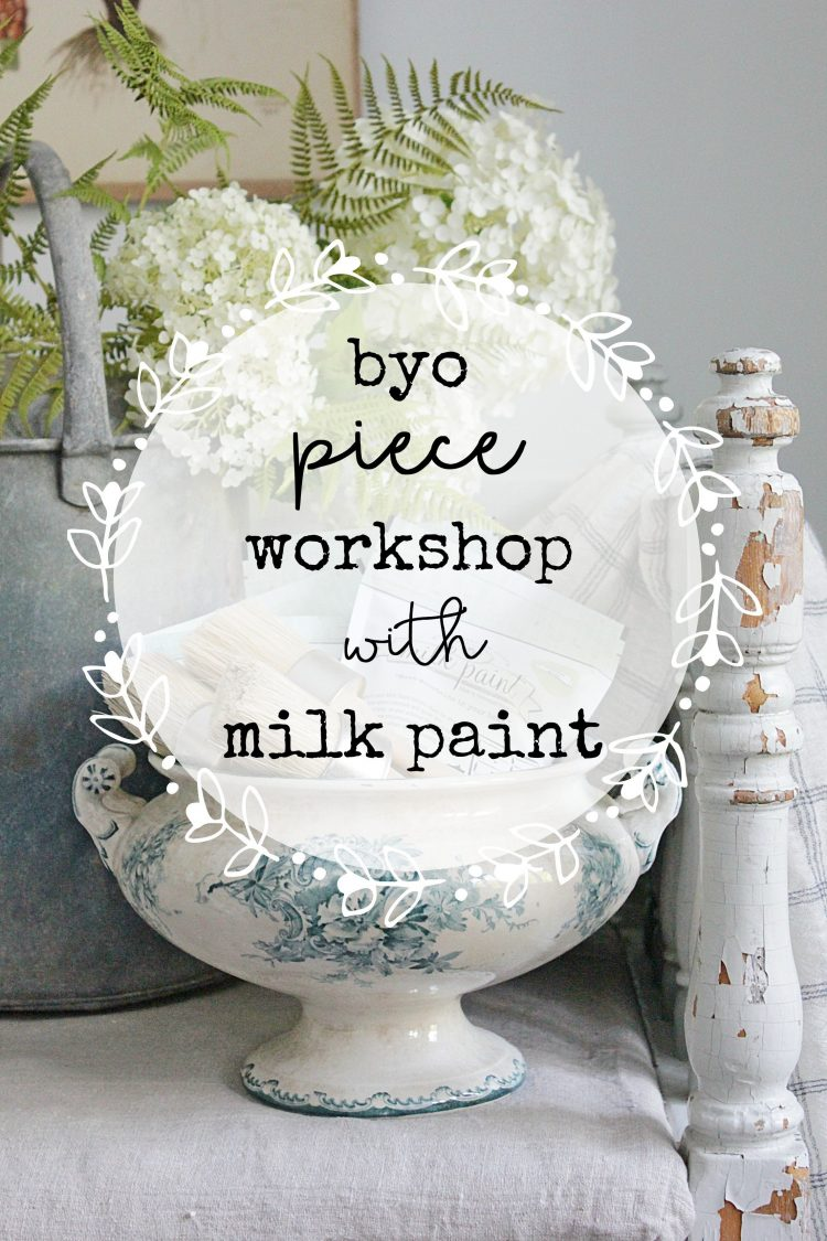 Come along and have some fun at our Milk Paint BYO Piece Workshop. The workshop will teach you from prep to finish on how to complete a small piece of furniture using Miss Mustard or Sweet Pickins Milk Paint. All materials supplied plus a yummy lunch is included | www.raggedy-bits.com | #workshop #raggedybits #mmsmilkpaint #sweetpickinsmilkpaint #byo #piece