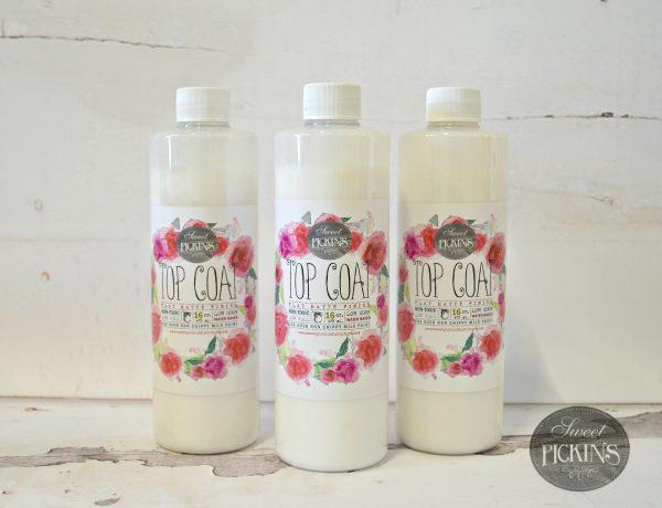 Sweet Pickins Milk Paint Top Coat Raggedy Bits