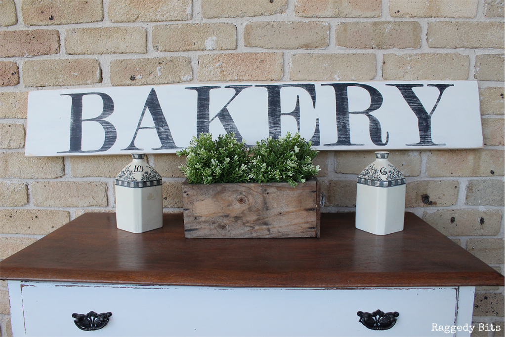 How To Make Farmhouse Bakery Antiques Kitchen Signs