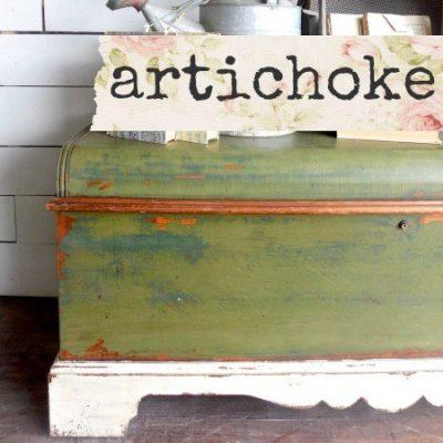 Sweet Pickins Milk Paint - Artichoke | www.raggedy-bits.com | #raggedybits #paintsupplier #milkpaint #paintedfurniture #artichoke