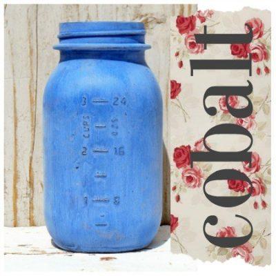Sweet Pickins Milk Paint - Cobalt | www.raggedy-bits.com | #raggedybits #paintsupplier #milkpaint #paintedfurniture #cobalt