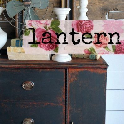 Sweet Pickins Milk Paint - Lantern | www.raggedy-bits.com | #raggedybits #paintsupplier #milkpaint #paintedfurniture #lantern