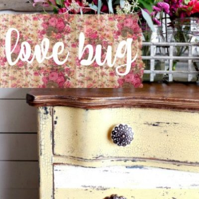 Sweet Pickins Milk Paint - Love Bug | www.raggedy-bits.com | #raggedybits #paintsupplier #milkpaint #paintedfurniture #lovebug