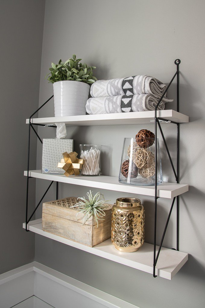 5 Essential Elements of Beautifully Styled Shelves is a feature from Waste Not Wednesday-108 by Keys To Inspiration| www.raggedy-bits.com