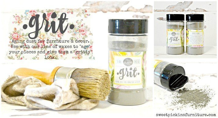 Sweet Pickins Milk Paint - Grit | www.raggedy-bits.com | #raggedybits #paintsupplier #milkpaint #paintedfurniture #grit