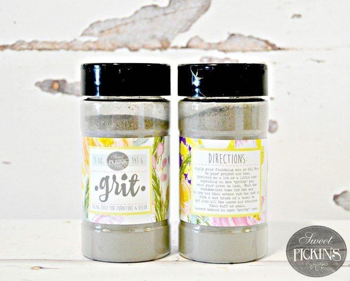 Sweet Pickins Milk Paint - Grit | www.raggedy-bits.com | #raggedybits #paintsupplier #milkpaint #paintedfurniture #grit