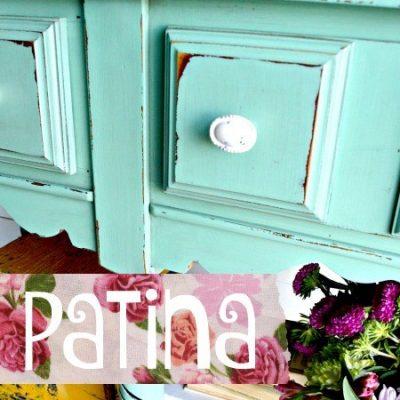 Sweet Pickins Milk Paint - Patina | www.raggedy-bits.com | #raggedybits #paintsupplier #milkpaint #paintedfurniture #patina