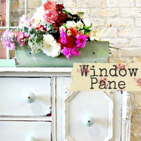 Sweet Pickins Milk Paint - Window Pane | www.raggedy-bits.com | #raggedybits #paintsupplier #milkpaint #paintedfurniture #windowpane