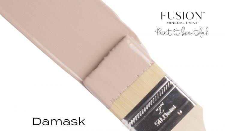 Fusion Mineral Paint Brushstroke - Damask | www.raggedy-bits.com