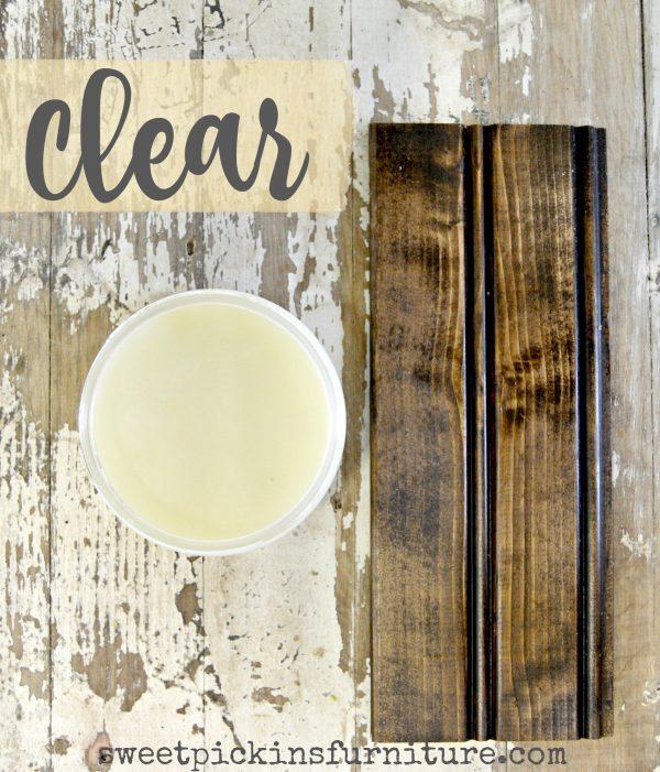 Sweet Pickins Milk Paint - Clear Wax | www.raggedy-bits.com | #raggedybits #paintsupplier #milkpaint #paintedfurniture #clearwax