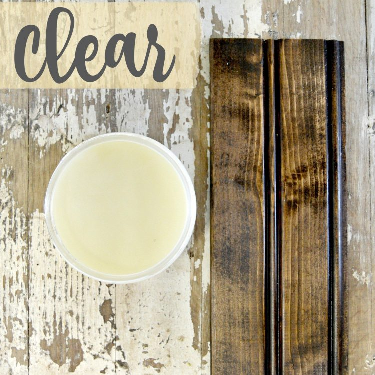 Sweet Pickins Milk Paint - Clear Wax | www.raggedy-bits.com | #raggedybits #paintsupplier #milkpaint #paintedfurniture #clearwax