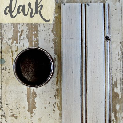 Sweet Pickins Milk Paint - Dark Wax | www.raggedy-bits.com | #raggedybits #paintsupplier #milkpaint #paintedfurniture #darkwax