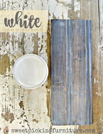 Sweet Pickins Milk Paint - White Wax | www.raggedy-bits.com | #raggedybits #paintsupplier #milkpaint #paintedfurniture #whitewax