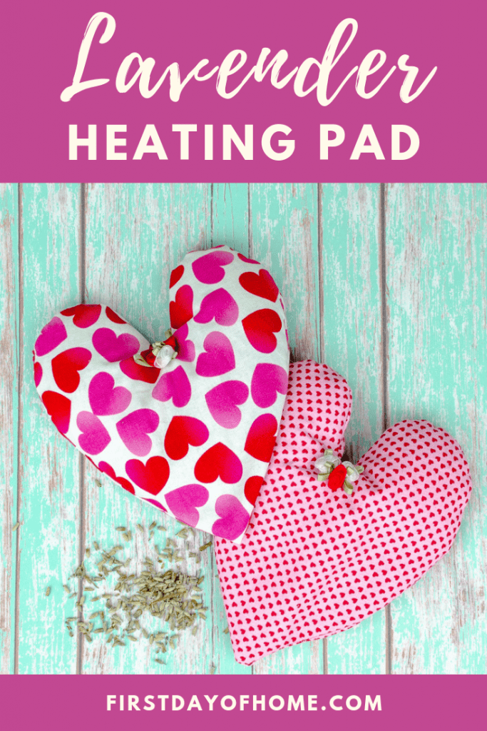 How to Make a rice Heating Pad with Lavender which is a feature for Waste Not Wednesday-139 by First Day of Home | www.raggedy-bits.com
