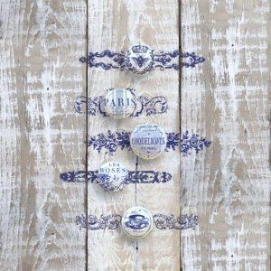 Have fun adding texture to your projects with these fun Iron Orchid Designs - Knob Toppers Decor Stamps | www.raggedy-bits.com | #raggedybits #IOD #DecorStamps #KnobToppers#texture