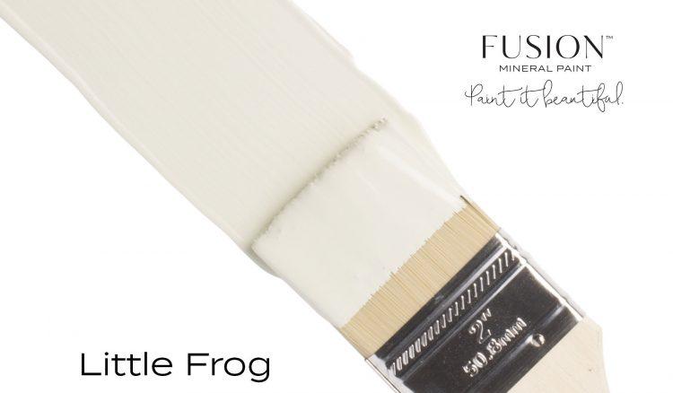 Fusion Mineral Paint Brushstroke - Little Frog | www.raggedy-bits.com