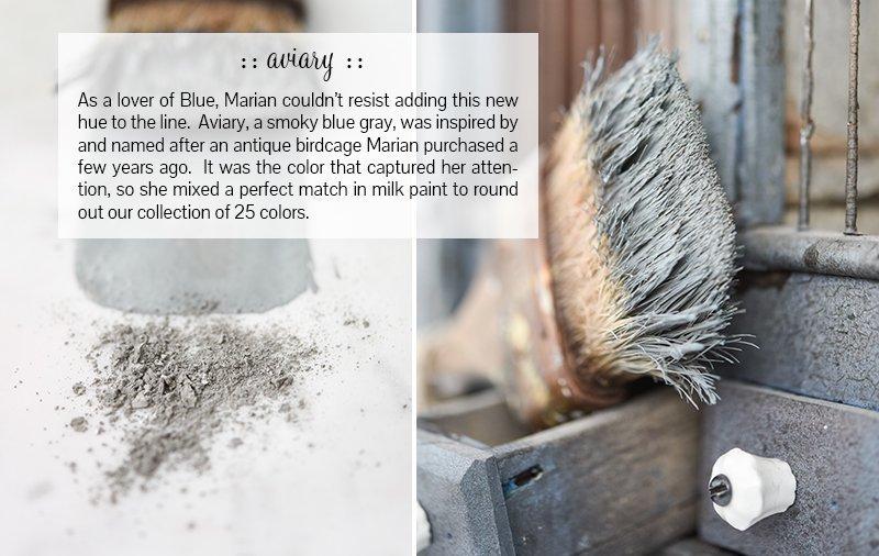Miss Mustard Seed Milk Paint - Aviary | www.raggedy-bits.com