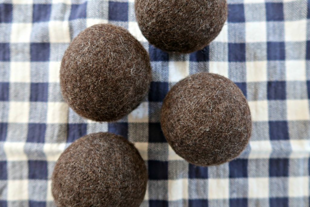 Easy DIY Wool Dryer Balls which is a feature for Waste Not Wednesday-154 by Busy Being Jennifer | www.raggedy-bits.com
