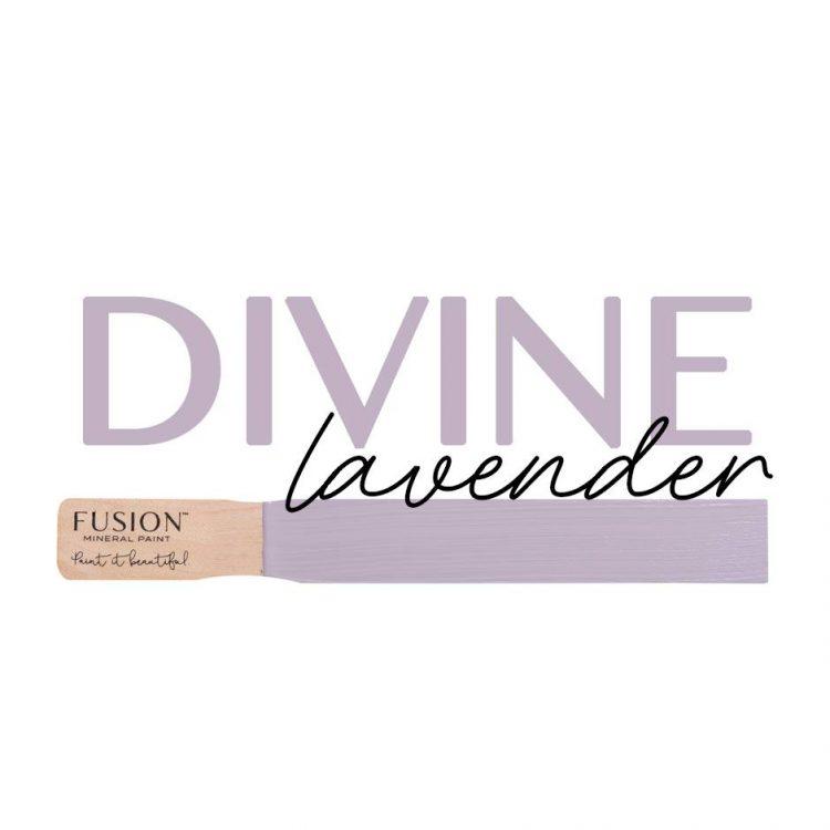 Fusion Mineral Paint - Divine Lavender | www.raggedy-bits.com