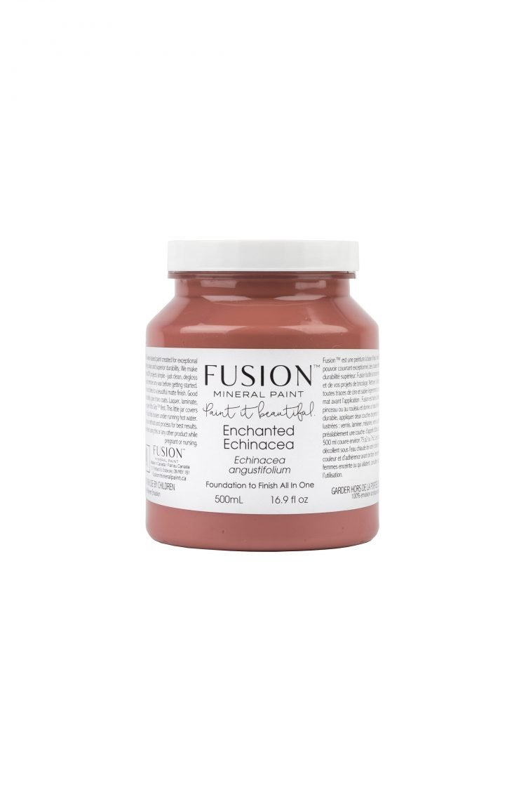 Fusion Mineral Paint - Enchanted Echinacea | www.raggedy-bits.com