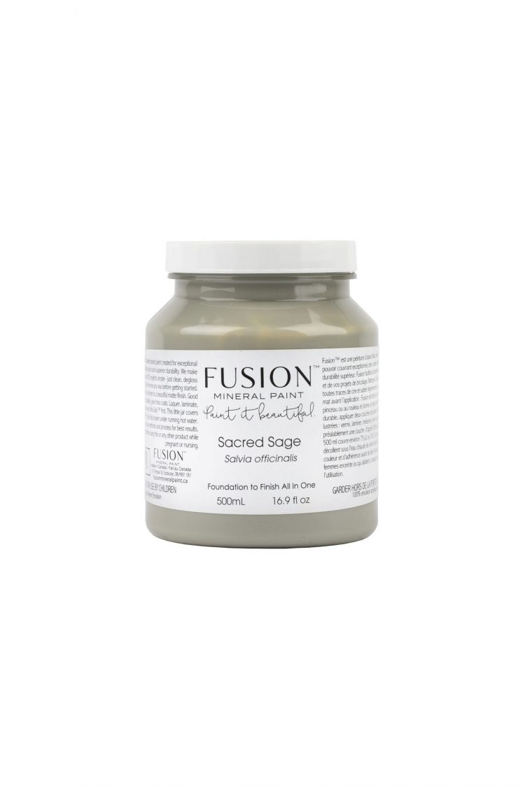 Fusion Mineral Paint - Sacred Sage   www.raggedy-bits.com
