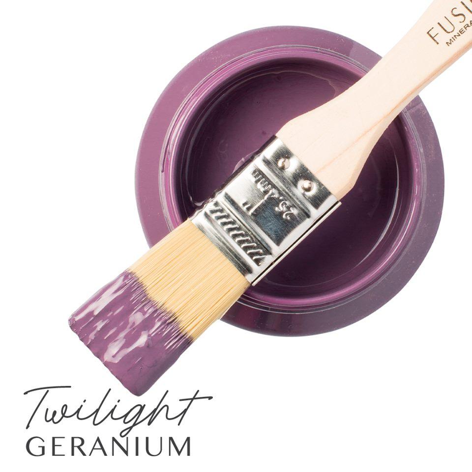 Fusion Mineral Paint - Twilight Geranium | www.raggedy-bits.com