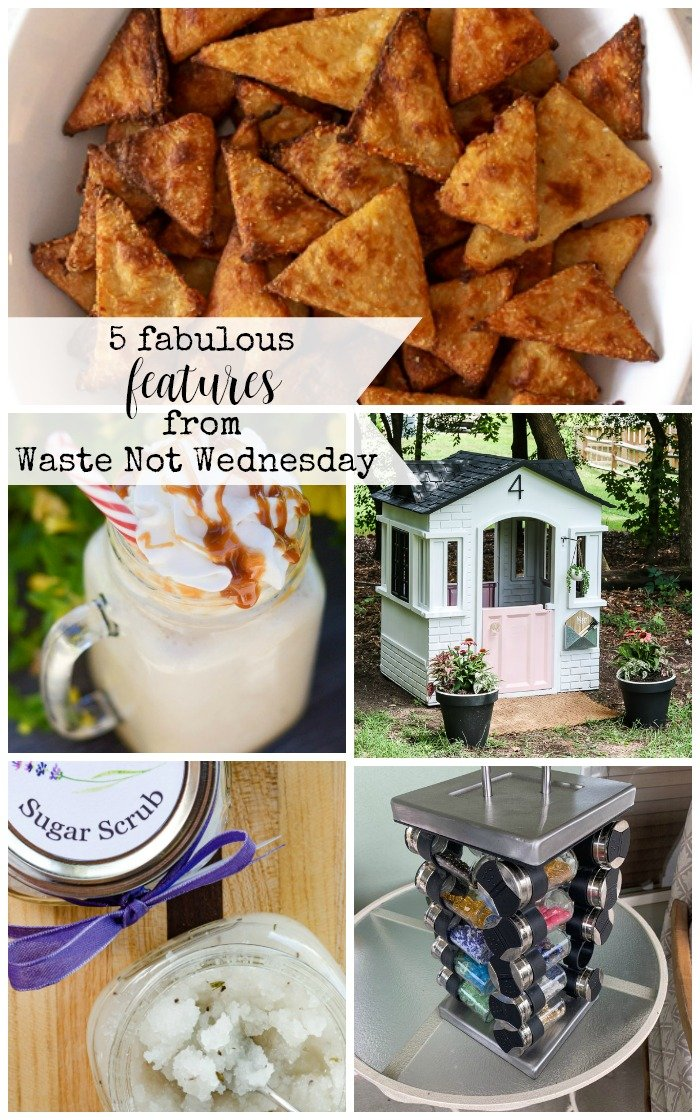 Features from our fun Waste Not Wednesday-165 DIY, Craft, Home Decor and Recipe party this week! Be sure to join us and share your DIY, Craft, Home Decor and favourite recipes! | www.raggedy-bits.com | www.salvagesisterandmister.com | www.faeriesandfauna.com | #WasteNotWednesday #DIY #HomeDecor #Craft #Recipes
