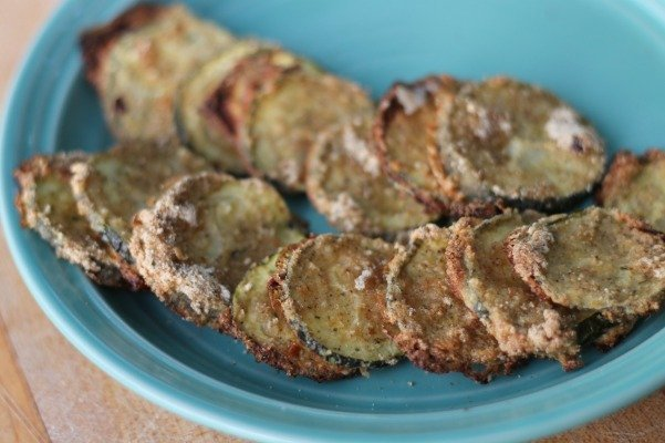 Zesty Ranch Zucchini Chips which is a feature for Waste Not Wednesday-167 by Coupons and Freebies Mom | www.raggedy-bits.com