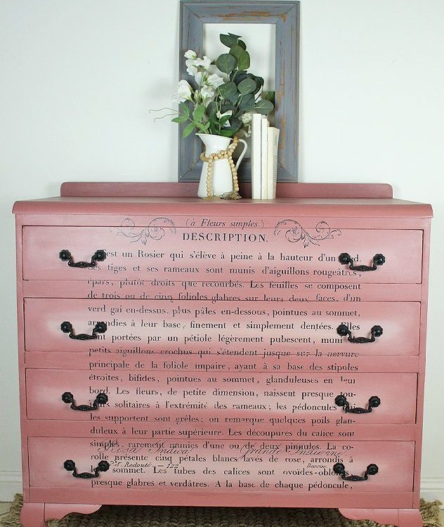Chest Of Drawer Makeover | www.raggedy-bits.com