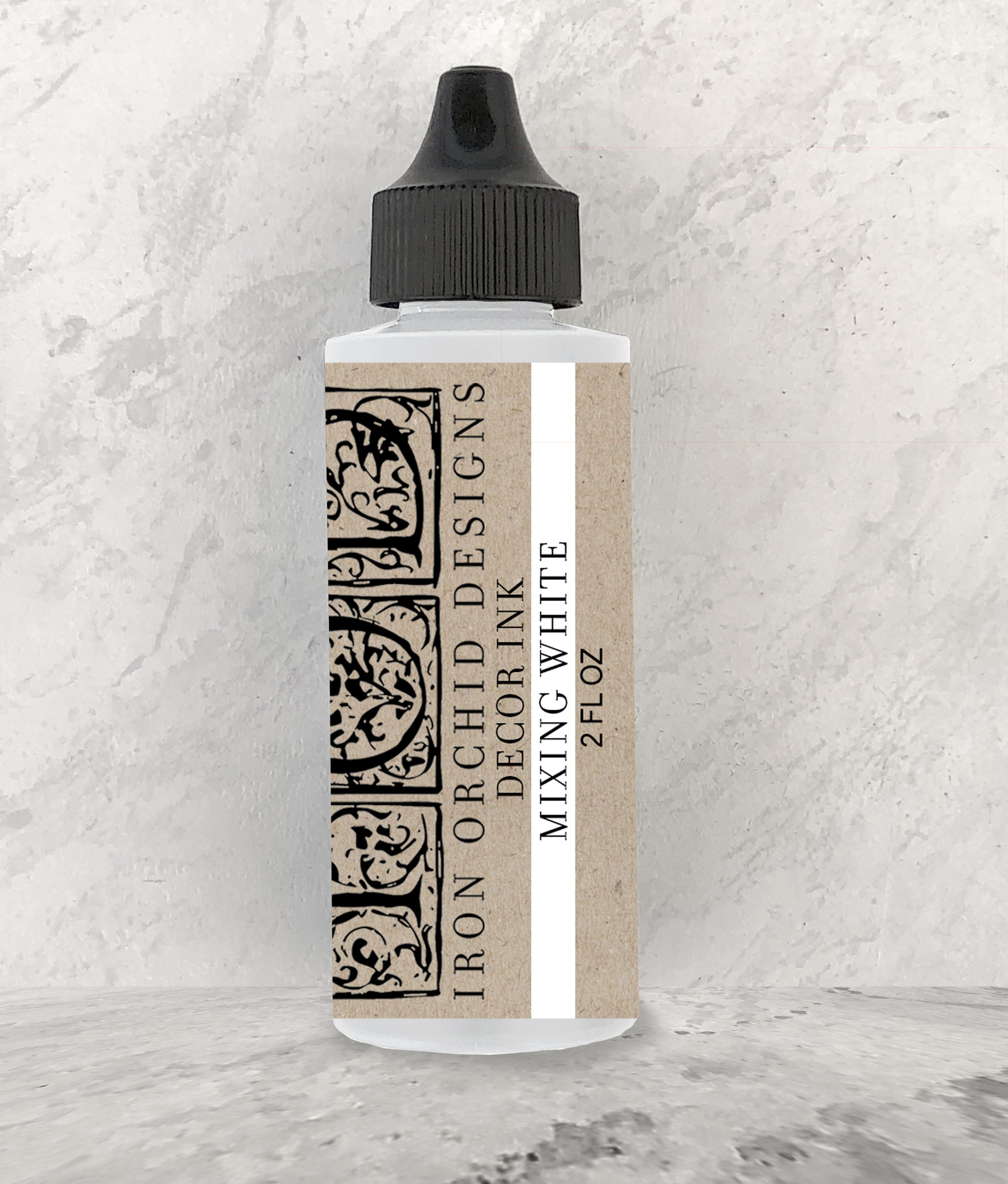 Have fun adding texture to your projects with our fun Iron Orchid Designs - Decor Ink - Mixing White | www.raggedy-bits.com | #raggedybits #IOD #DecorInk #MixingWhite #texture
