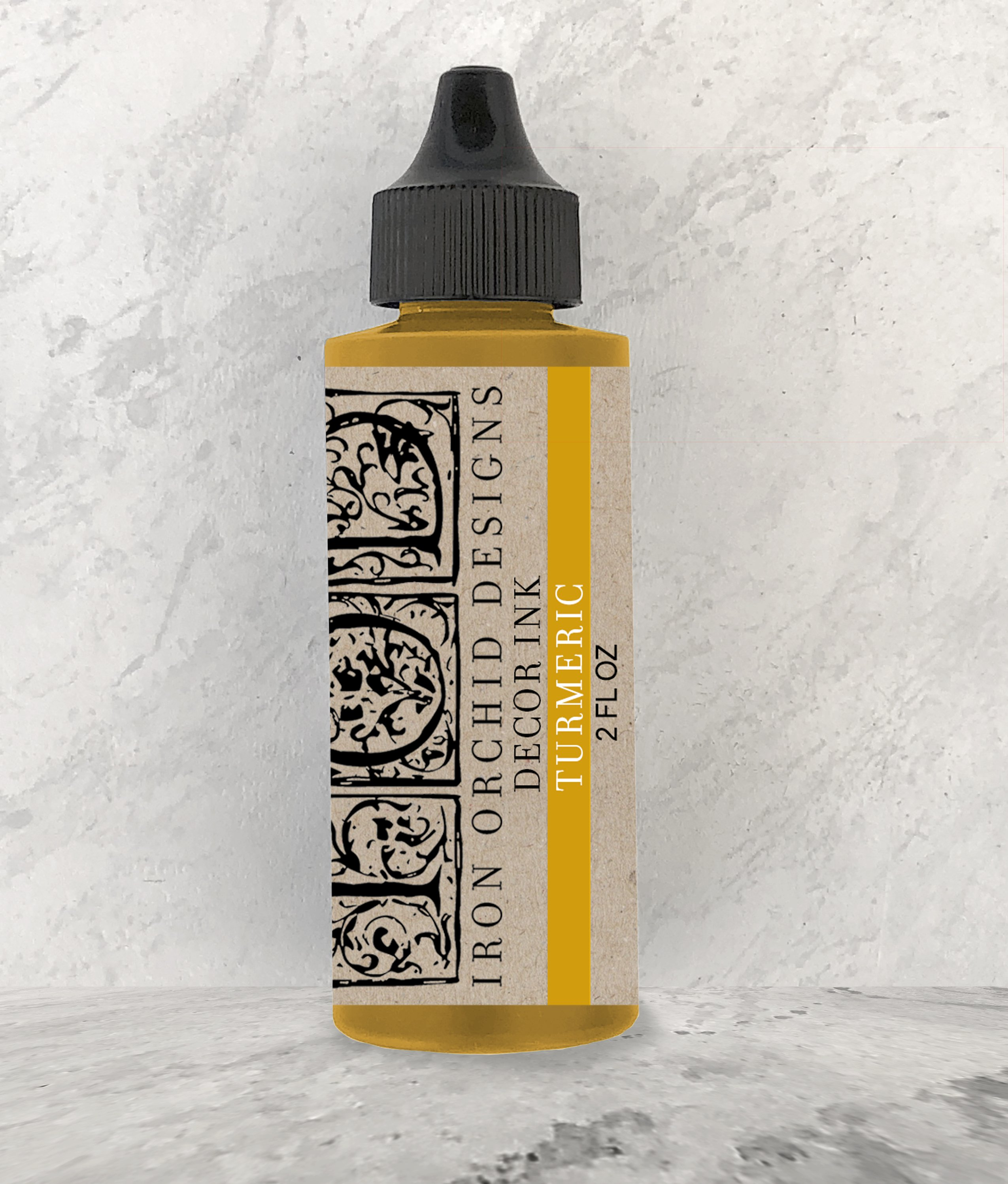 Have fun adding texture to your projects with our fun Iron Orchid Designs - Decor Ink - Tumeric   www.raggedy-bits.com   #raggedybits #IOD #DecorInk #Tumeric  #texture