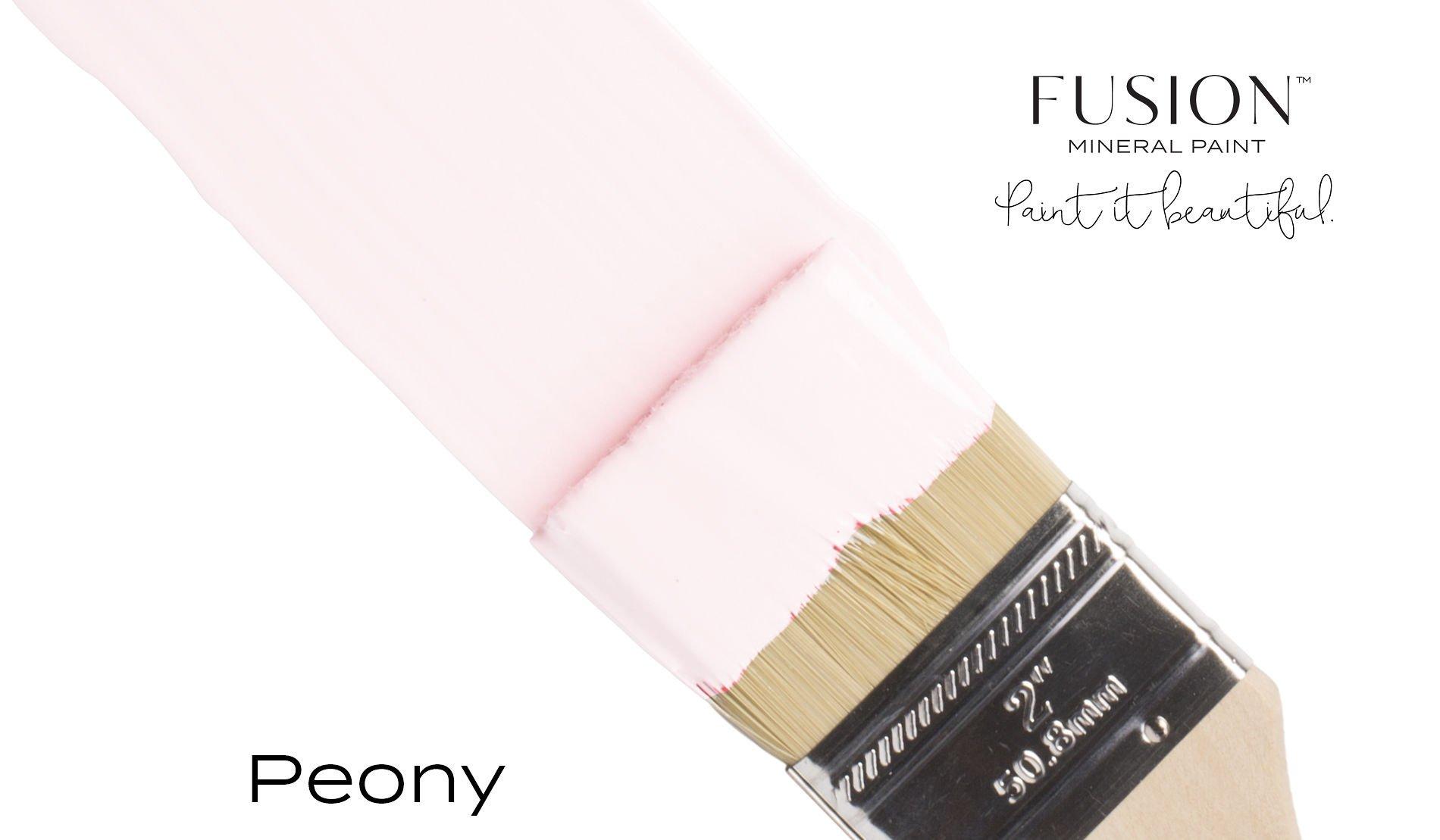 Fusion Mineral Paint Brushstroke - Peony | www.raggedy-bits.com