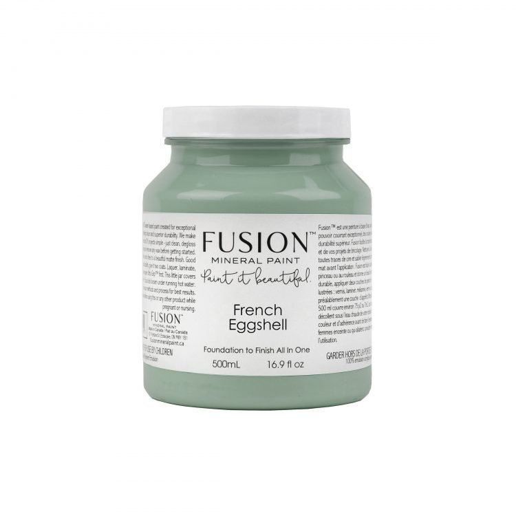 Fusion Mineral Paint - French Eggshell | www.raggedy-bits.com