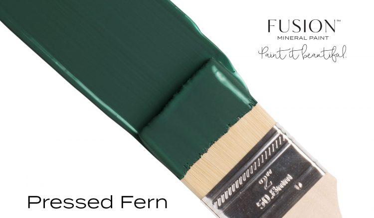 Fusion Mineral Paint - Pressed Fern   www.raggedy-bits.com