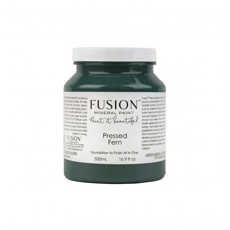 Fusion Mineral Paint - Pressed Fern | www.raggedy-bits.com