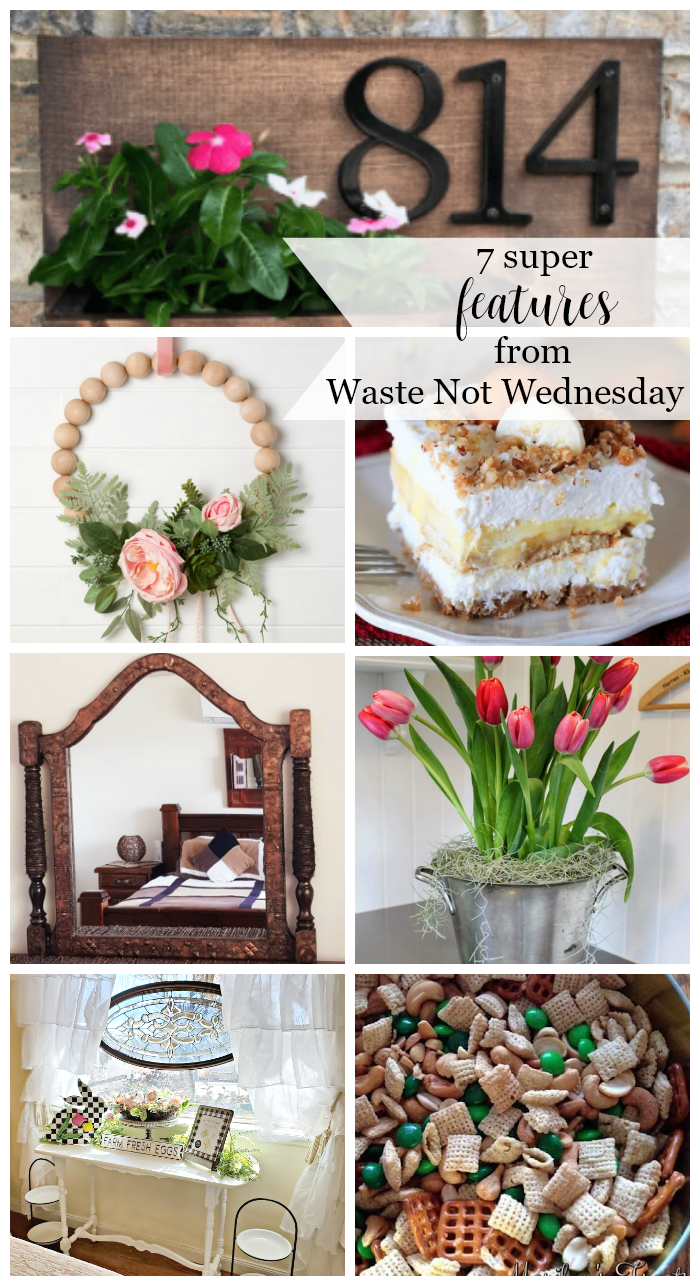 Features from our fun Waste Not Wednesday-195 DIY, Craft, Home Decor and Recipe party this week! Be sure to join us and share your DIY, Craft, Home Decor and favourite recipes! | www.raggedy-bits.com | www.faeriesandfauna.com | #WasteNotWednesday #DIY #HomeDecor #Craft #Recipes