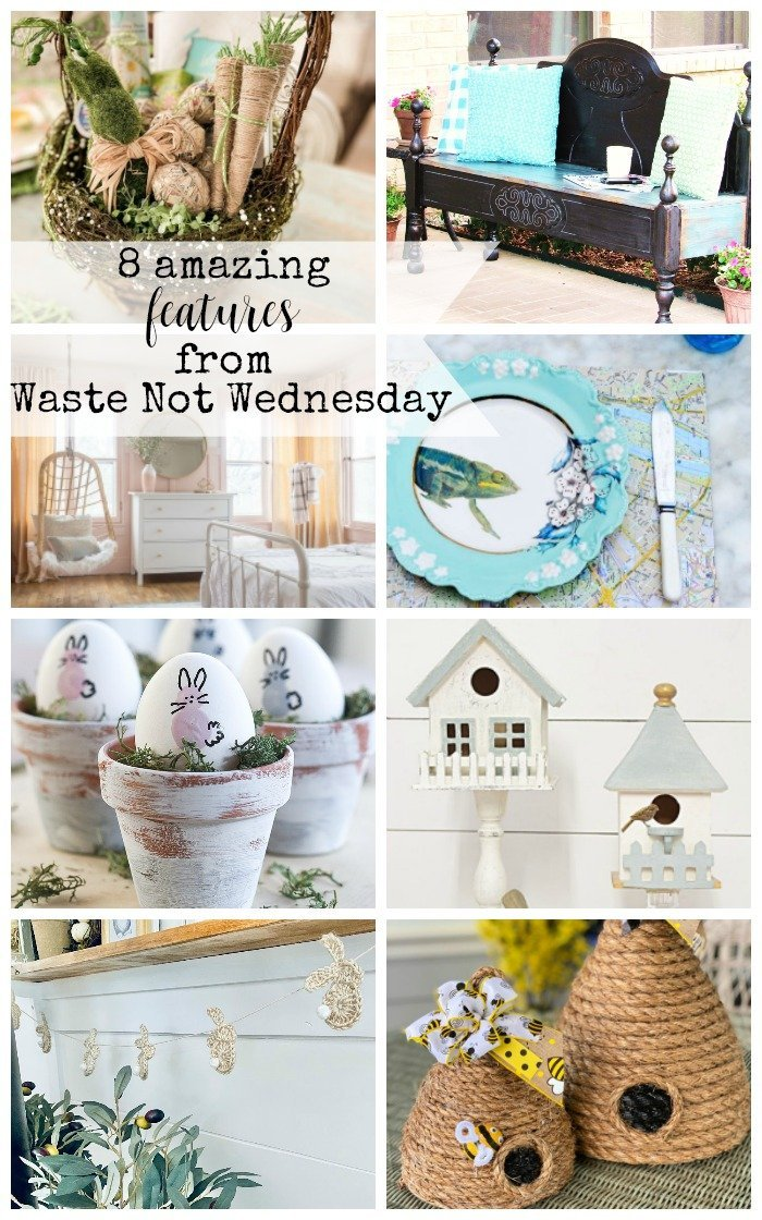 Features from our fun Waste Not Wednesday-200 DIY, Craft, Home Decor and Recipe party this week! Be sure to join us and share your DIY, Craft, Home Decor and favourite recipes! | www.raggedy-bits.com | www.faeriesandfauna.com | #WasteNotWednesday #DIY #HomeDecor #Craft #Recipes