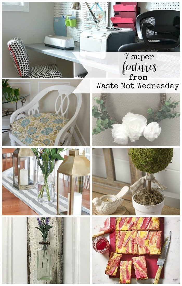 Features from our fun Waste Not Wednesday-205 DIY, Craft, Home Decor and Recipe party this week! Be sure to join us and share your DIY, Craft, Home Decor and favourite recipes! | www.raggedy-bits.com | www.faeriesandfauna.com | #WasteNotWednesday #DIY #HomeDecor #Craft #Recipes