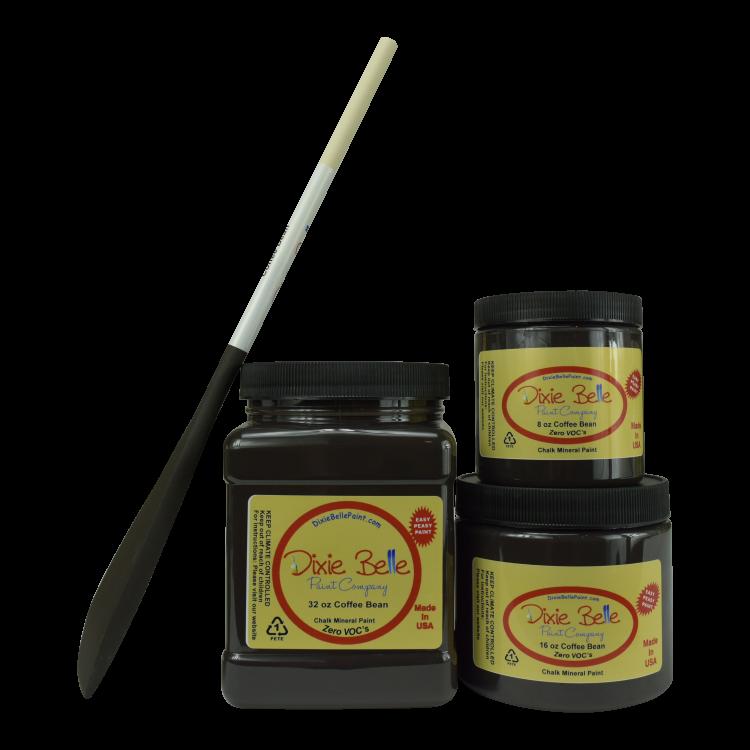 Dixie Belle Chalk Mineral Paint - Coffee Bean | www.raggedy-bits.com #raggedybits #DIY #paint #dixiebelle #Coffee Bean