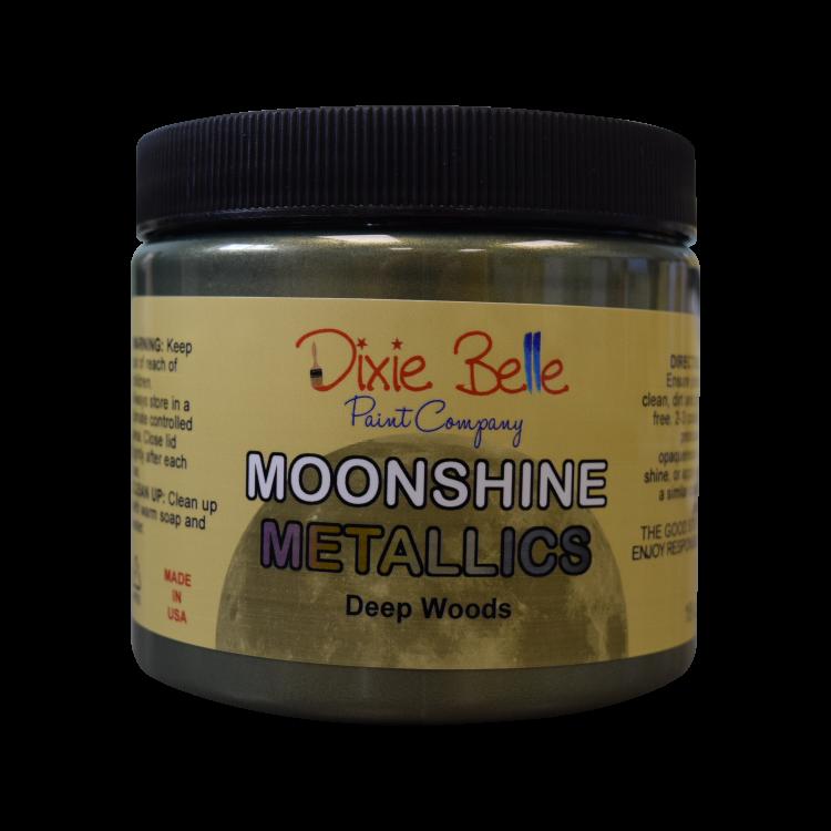 Dixie Belle Moonshine Metallic - Deep Woods   www.raggedy-bits.com   #raggedybits #DIY #paint #dixiebelle #DeepWoods #moonshine #metallic